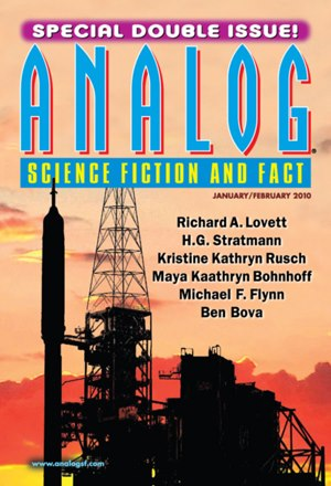 """Shame"" by Mike Resnick & Lezli Robyn, appeared in ANALOG: SCIENCE FICTION AND FACT. Edited by Stanley Schmidt. Cover design by Victoria Green. Cover image courtesy of NASA. (It was in the January/February 2010 double issue, but it came out before November 2009. United States.)"