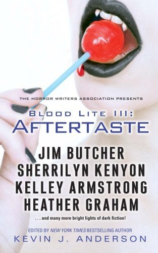 """Making the Cut"", by Mike Resnick & Lezli Robyn, published in the BLOOD LITE III: AFTERTASTE anthology by SIMON & SCHUSTER. Edited by Kevin J. Anderson. (United States, October 2012)"