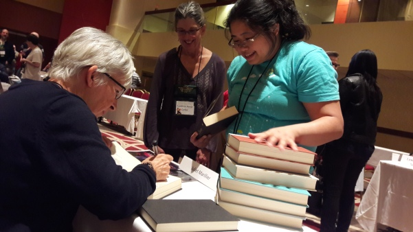 Juliet Marillier & Fans—World Fantasy Convention (Columbus, Ohio)