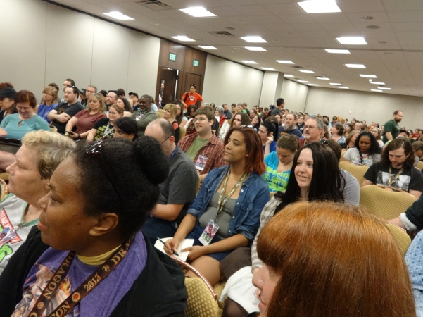 Literary Panel Audience—Dragoncon (Atlanta, Georgia)